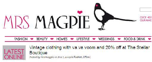 mrs magpie fashion shop
