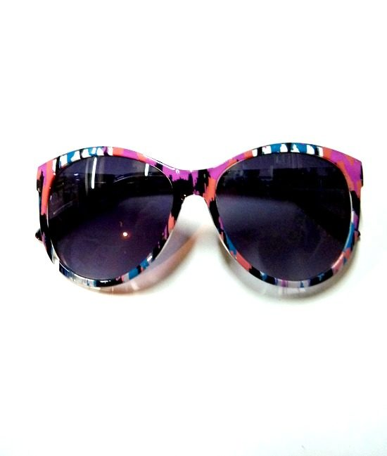 80s style butterfly frame sunglasses 11