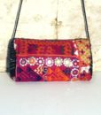 Indian boho bag with bells Ganesh 567