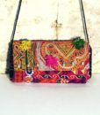 Indian boho bag with bells Ganesh 576