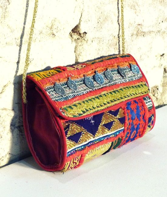 Indian boho coin bag Risha