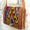 boho bag tribal carpet satchel 321