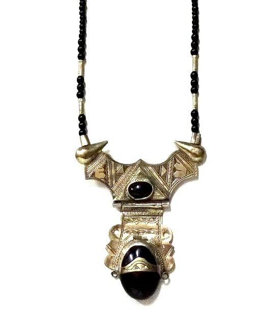touareg silver necklace yut65nxndhns3