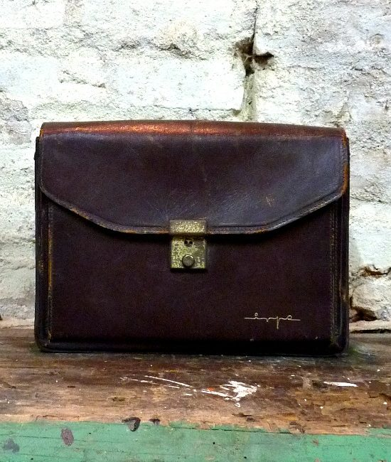 40s vintage clutch brief case bag 1