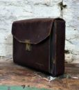 40s vintage clutch brief case bag 3