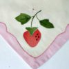 50s vintage applique strawberry table set 3