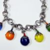 60s vintage bakelite bead necklace 11