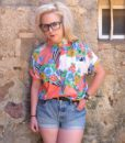 80s vintage bright patterned shirt 11