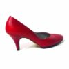 80s vintage red leather shoes 11