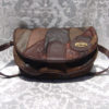 80's leather patchwork bag 11