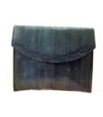 80s navy mock snakeskin bag 11