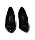 80s vintage 'Graceland' patent black court shoes 111