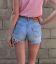 90s vintage high waisted levis shorts back