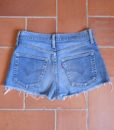 levis high waisted denim shorts 525 1 back