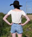 vintage high waisted levis denim shorts 11