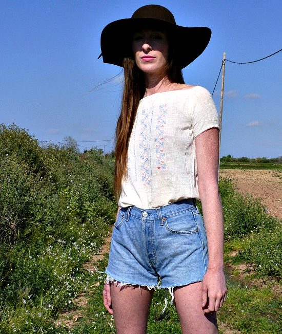 vintage levis high waisted shorts 11