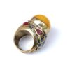 vintage chunky hippie ring 372