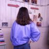 80s vintage lilac shell suit jacket 5