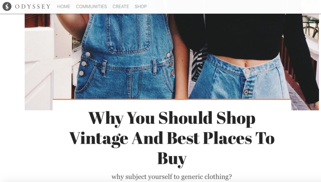 98dbceb7d5 We ve been listed within the top 5 online vintage shops!