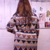 70s vintage African maxi dress 7