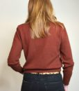 40s vintage russet knitted sweater 6