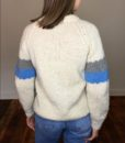 70s Vintage 'cottage' chunky knitted jumper 5