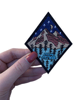 Camp life patch 1