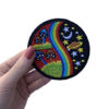 'Psychedelic shrooms' iron-on patch 1