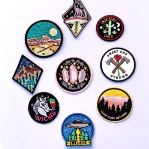 patches + Pins