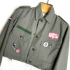 rebel girl vintage cropped military jacket 3