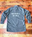 rebel girl vintage military shirt 2