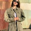 vintage military jacket customised 2