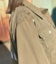vintage military jacket customised 8