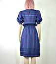 80s vintage spectrum striped day dress 5