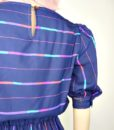 80s vintage spectrum striped day dress 6