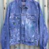 love custom denim jacket 1