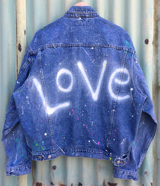 love custom denim jacket 4