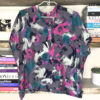80s vintage cropped blouse 11